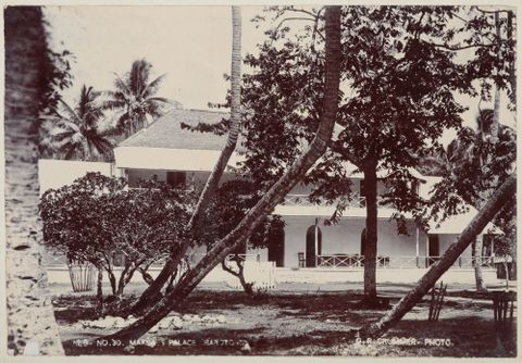 'Makea's Palace, Rarotonga'. From the album: Cook Islands