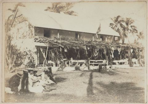 Celebration on a verandah, Cook Islands. From the album: Cook Islands