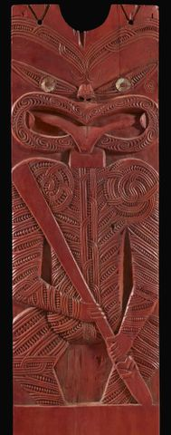 Poupou (carved panel)