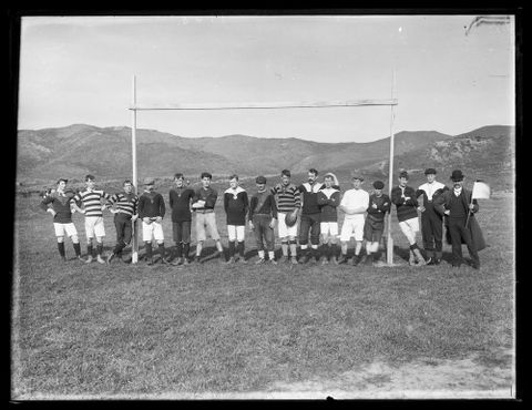 C.003607; Unidentified Rugby Team; circa 1900; Unknown (image/tiff)