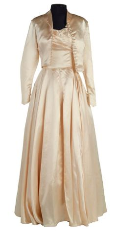 PC001735; Wedding dress and jacket; 1954; Unknown (image/tiff)