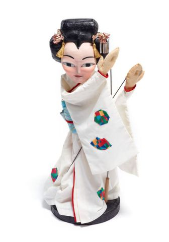 Puppet, Japanese woman