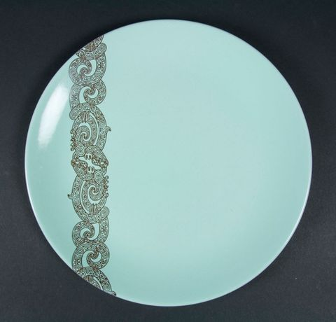 Dinner plate & Air New Zealand dinnerware | Collections Online - Museum of New ...