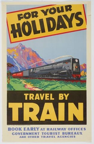 Poster, 'For Your Holidays'