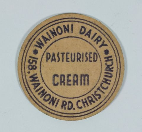 Cream bottle top