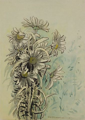 1959-0025-6; Marguerites; McCormack, T. A. ; without frame (image/jpeg)