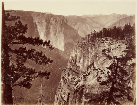 <EM>The first view of the valley</EM> by Carleton Watkins