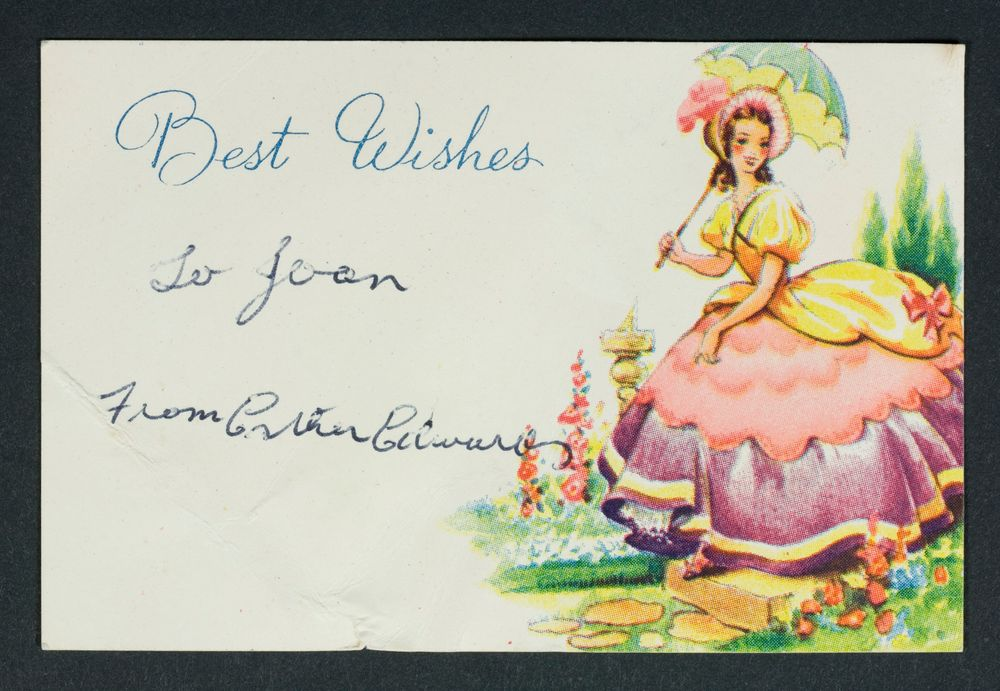 Wedding Gift Card Collections Online Museum Of New Zealand Te