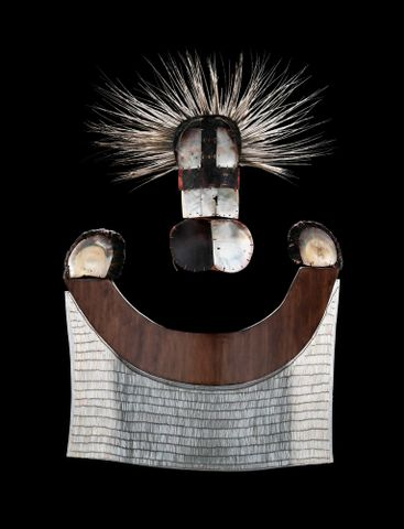 Parae (mask) and chest apron, FE000336/1 and FE000336/2 (image/tiff)