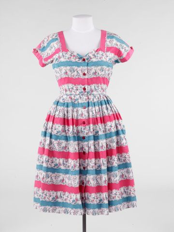 GH017060; Dress; c. 1960; Horrockses Fashions ; view 01 (image/tiff)