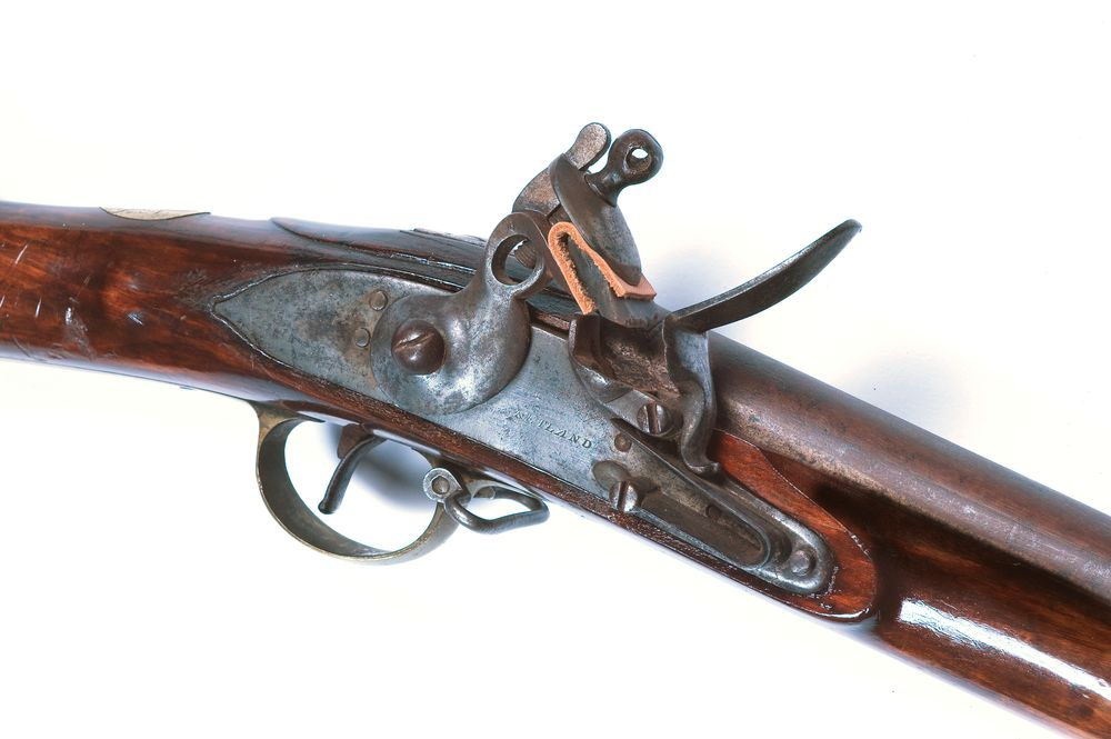 Flintlock musket | Collections Online - Museum of New