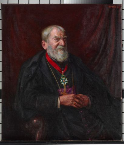 1935-0003-1; Portrait of Archbishop Redwood; 1934; Ellis, Frederick (image/tiff)