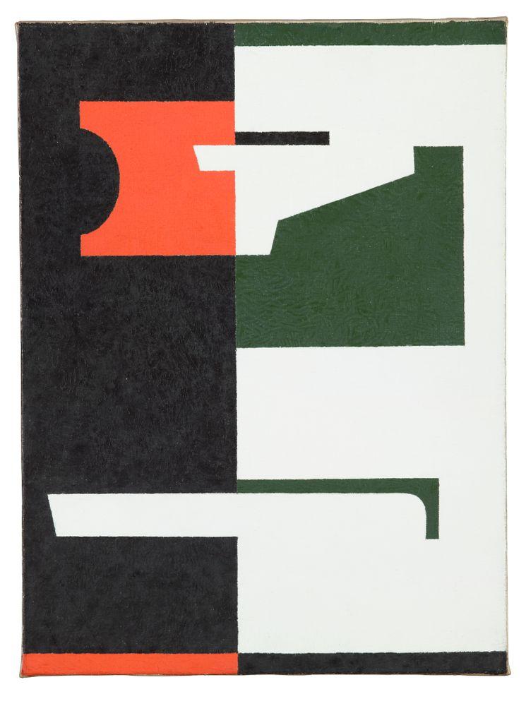 1982-0060-1; Painting no. 2; 1953; Walters, Gordon