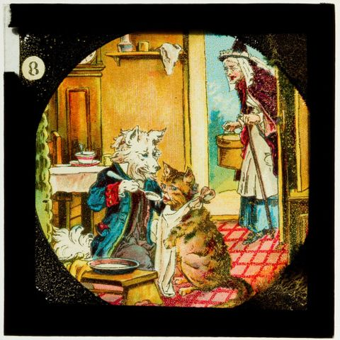 LS.003957; Mother Hubbard and Her Dog; Unknown (image/tiff)