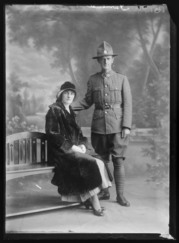 Portrait of Charles McLaren Turnbull and Evelyn HildaTurnbull