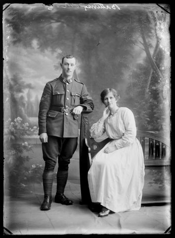 Portrait of Richard Battersby and Gladys Battersby