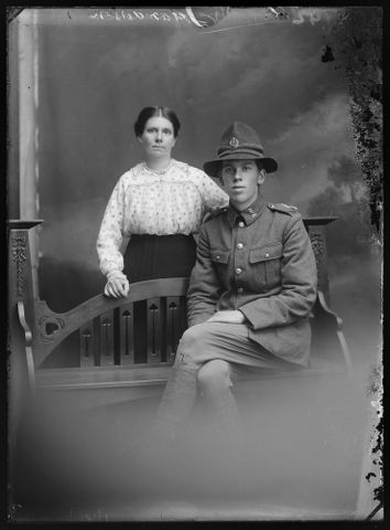 Portrait of William and Marion Anderson