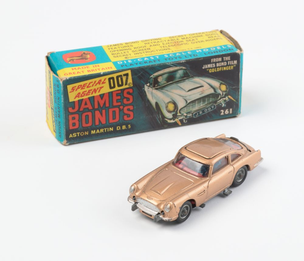 James Bond Toy Car Collections Online Museum Of New