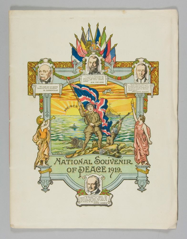 'National Souvenir of Peace 1919' - Museum of New Zealand Te Papa Tongarewa