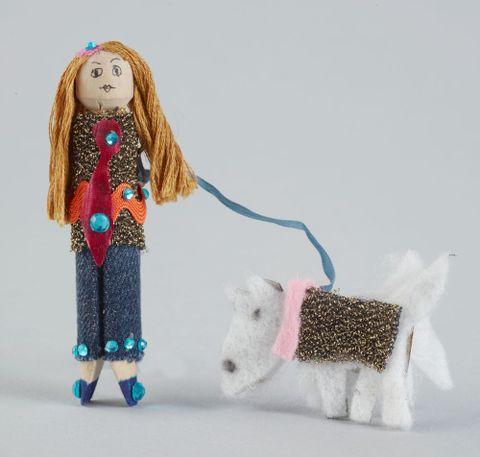 Peg Doll, 'Poppy and Marley'