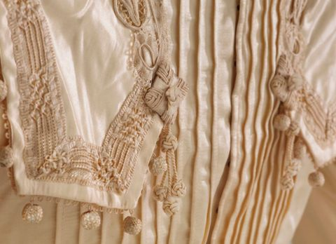 PC002586; Wedding Dress; circa 1890 ; detail 7 (image/tiff)