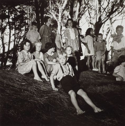 Media; [Imaging Team]; MA_I.236275; O.003506; Otaki Health Camp children, 1945.  From the portfolio: PhotoForum - John Pascoe; 1945; Pascoe, John; Apr 2011; Hall, Michael (image/tiff)