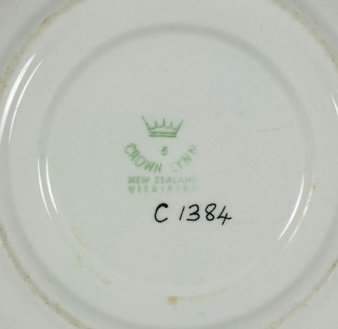 CG001384; Cup and saucer; 1955; Crown Lynn Potteries Ltd ; view 2 (image/tiff)