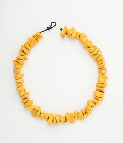 Necklace [yellow]. From the series 'Road Works'