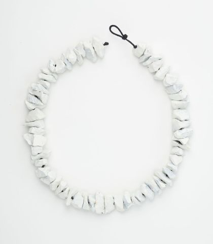 Necklace [white]. From the series 'Road Works'