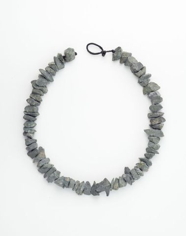 Necklace [grey]. From the series 'Road Works'