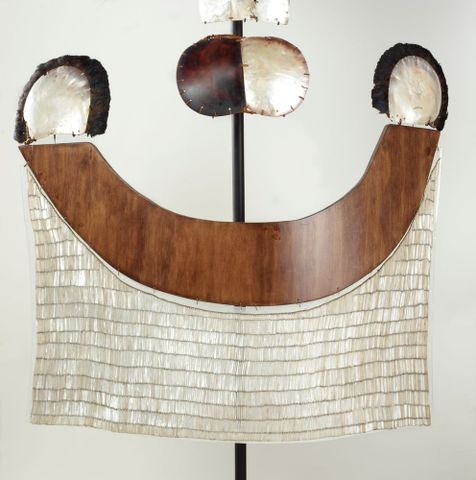 FE000336/1; ahu parau (chest apron); 1700s; Tahitian; Unknown ; view 1 (image/tiff)