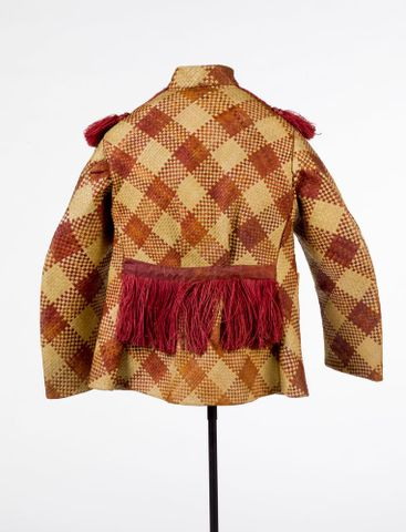 FE001055/1; Jacket, mans; circa 1900; Unknown ; view 3 (image/tiff)