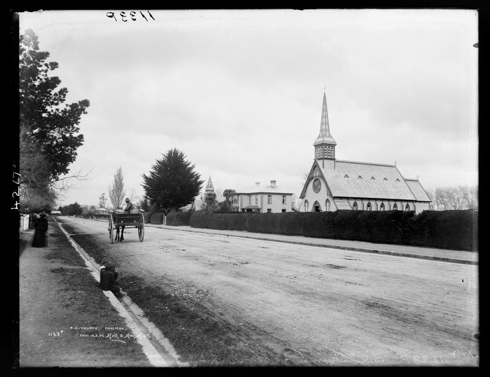 Roman Catholic Church, Rangiora   Collections Online