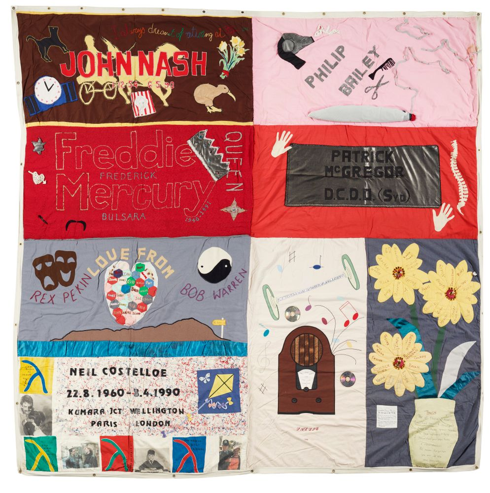 New Zealand AIDS Memorial Quilt | Collections Online - Museum of New