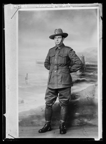 B.044853; LCpl Howard; circa 1920; Berry & Co (image/tiff)