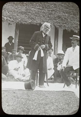 LS.005257; King Tongiia at Savage Island; Winkelmann, Henry (image/tiff)