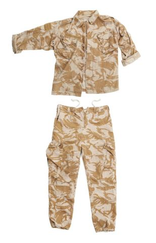 Desert Disruptive Pattern Material uniform