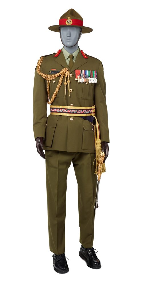 Dress officer uniform