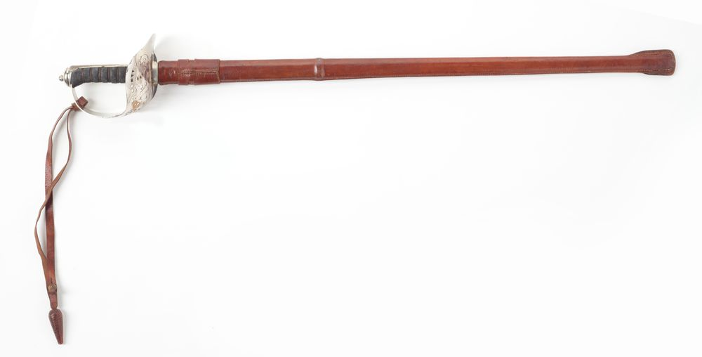 S000064; Sword, Public School Cadet; 1909; Robert Mole & Sons ; view 01