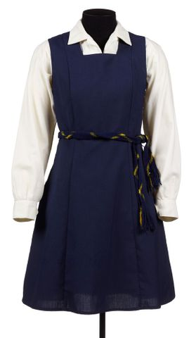 Queen Victoria Maori Boarding School girl's summer uniform