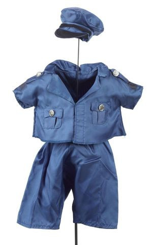 GH014712; Big Ted's police uniform; 1974 - 1988; Television New Zealand (image/jpeg)