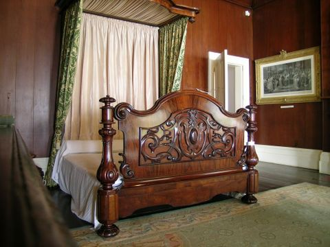 PF000116; Four-poster bed; circa 1870; Unknown (image/jpeg)