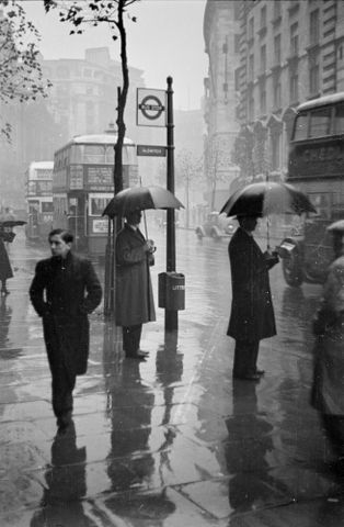 Wet day, Aldwych, London