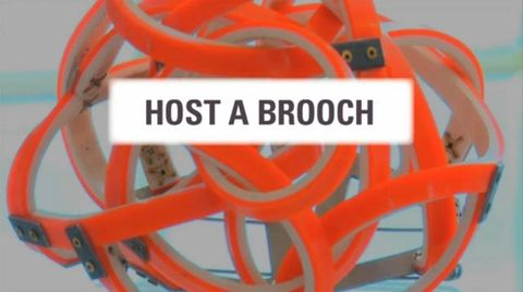 GH023375; Film, 'Host A Brooch'; 2012; Grant, Liz; screenshot from title screen (image/jpeg)