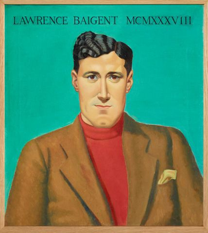 2012-0002-1; Portrait of Lawrence Baigent; 1938; Bensemann, Leo ; without frame (image/tiff)