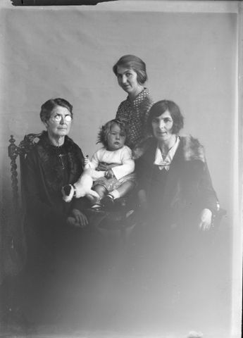 Three women and a child