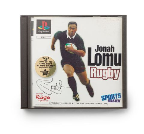 Jonah Lomu Rugby PlayStation game