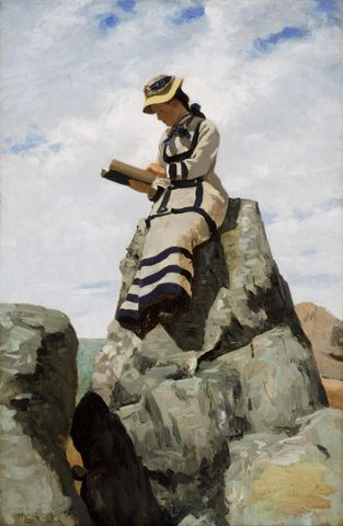 Reading on the Rocks, Grand Manan