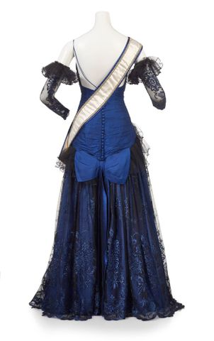 GH017544; Evening Gown, Miss Universe; 1983; McGowan, Dawn (image/tiff)
