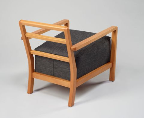 Easy Chair by Ernst Plischke, about 1949. Te Papa